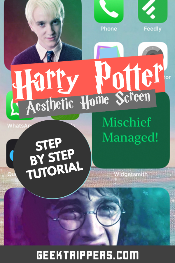Harry Potter Ios 14 Aesthetic Guide Apps Wallpapers Icons More