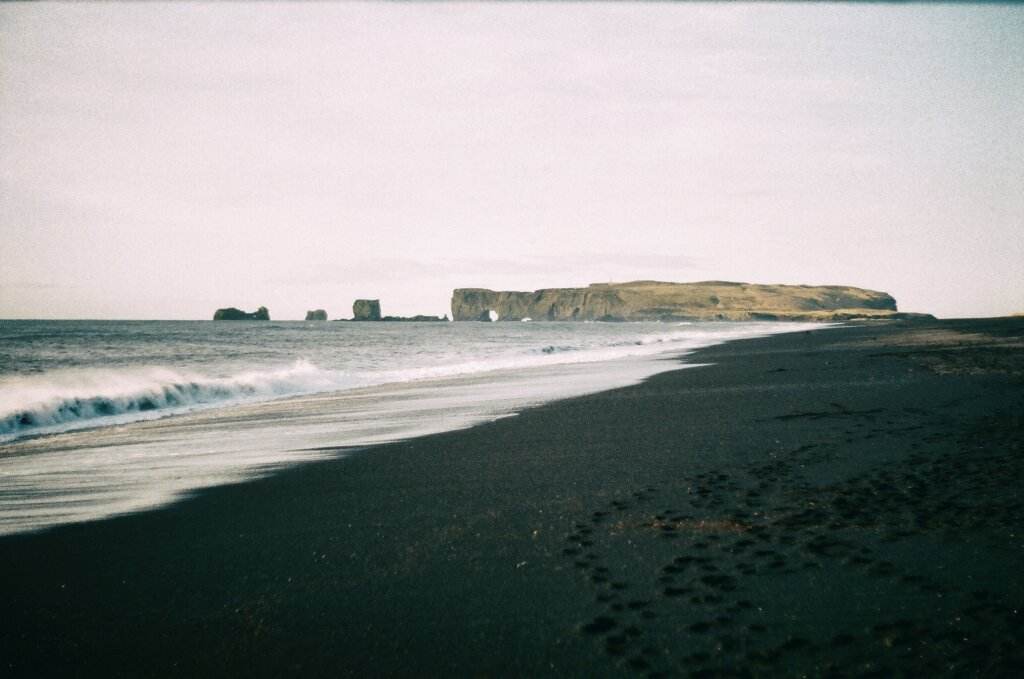 Black sand beach - Vik