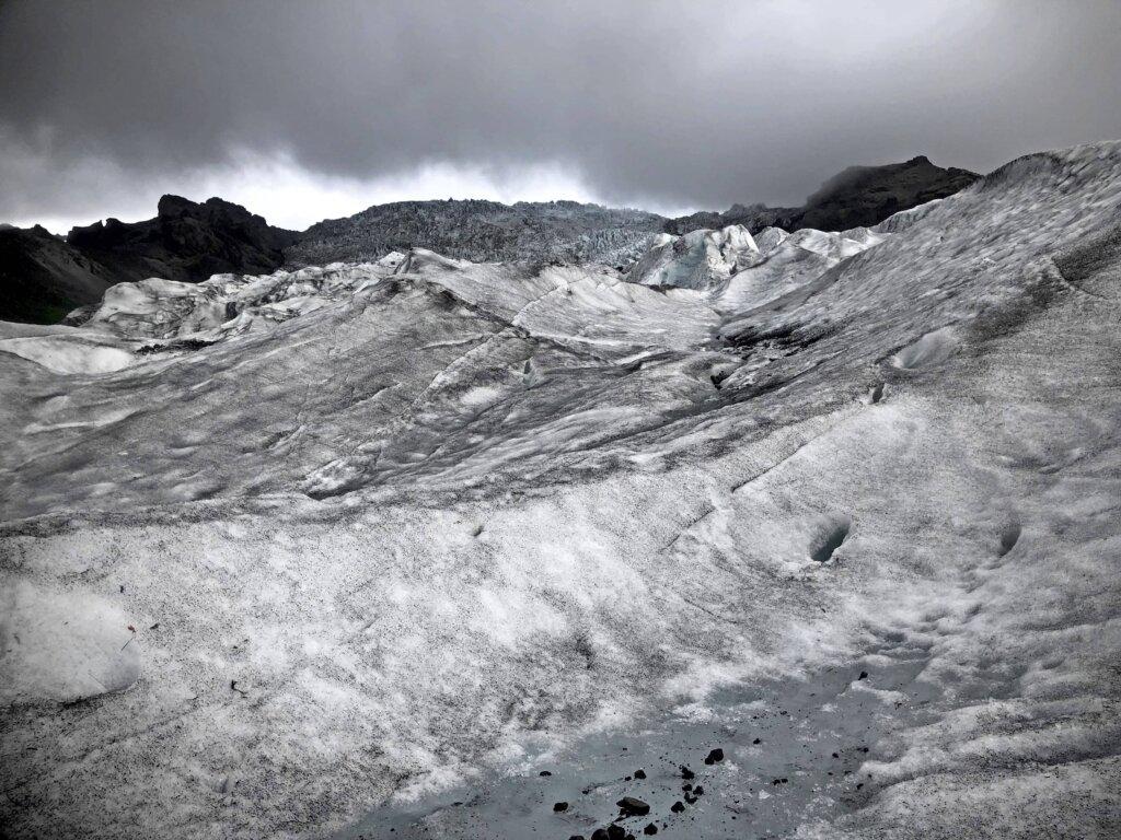 Skaftafell-glacier