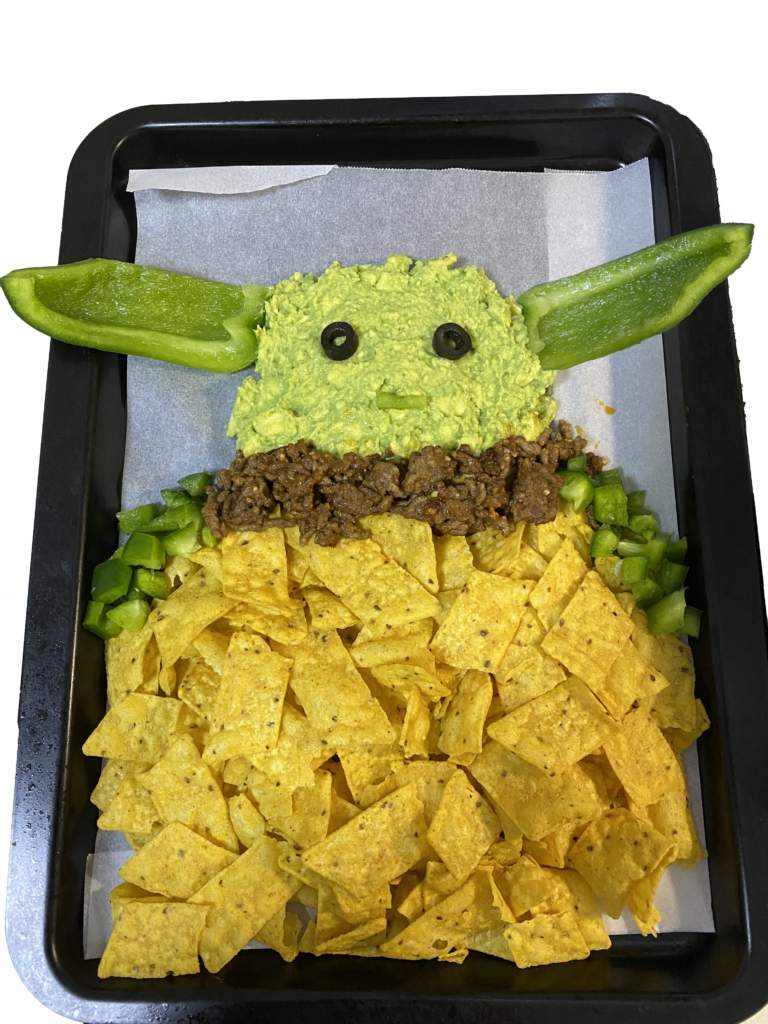Baby Yoda nachos