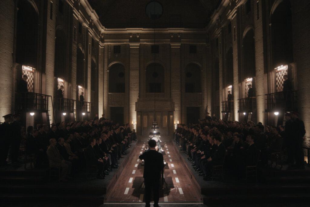 The Queen's Gambit final chess tournament room