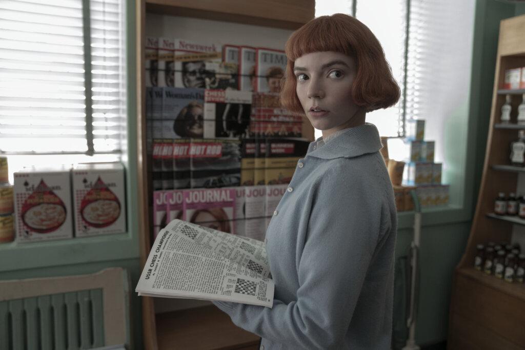 Beth standing in pharmacy