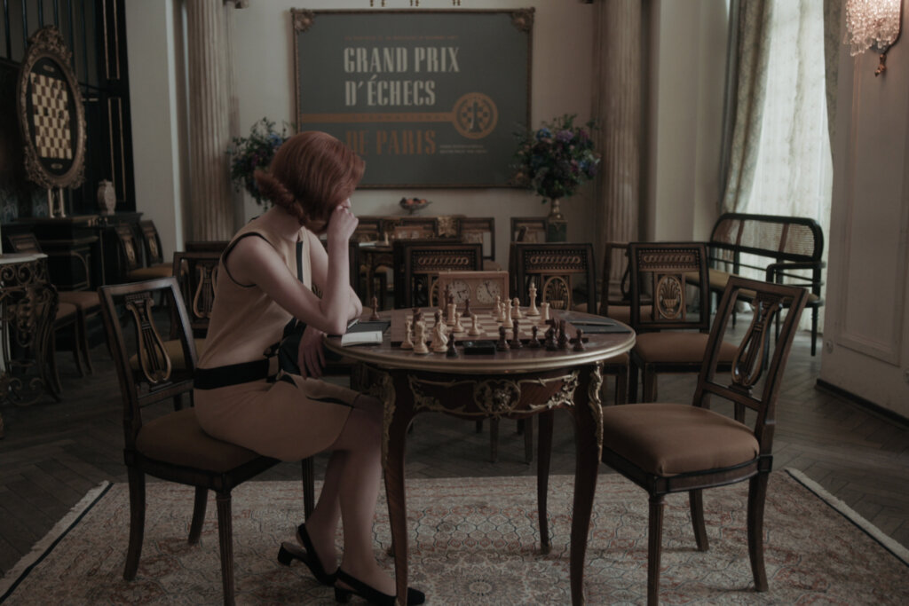 Playing chess in Paris