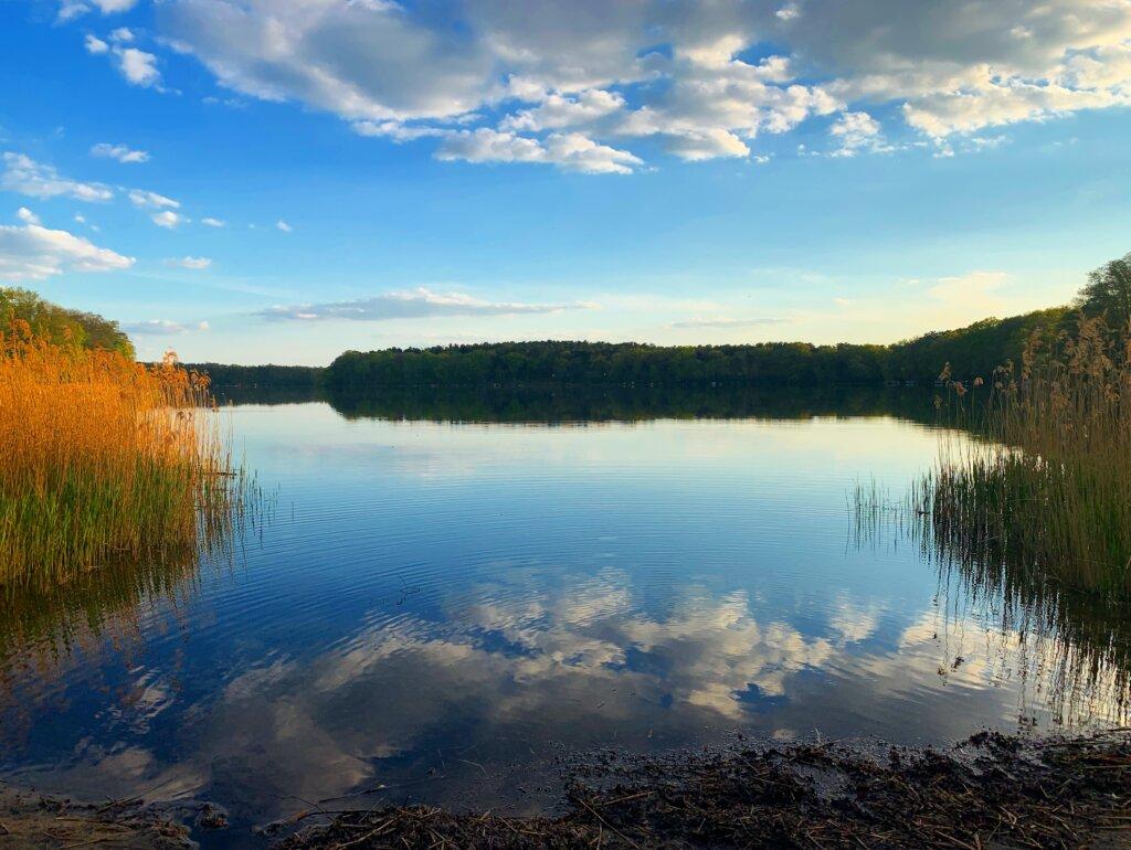 Siethener See lake