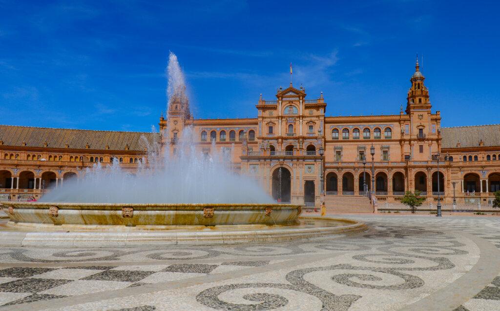 Plaza de Espana, aka Royal Palace of The